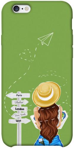 "Чехол itsPrint Travel girl для Apple iPhone 6/6s plus (5.5"")"