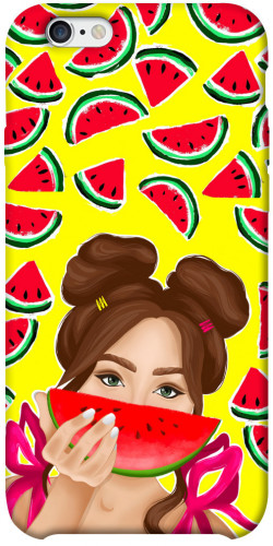 "Чехол itsPrint Watermelon girl для Apple iPhone 6/6s plus (5.5"")"