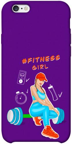 "Чехол itsPrint Fitness girl для Apple iPhone 6/6s plus (5.5"")"