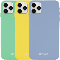"Чехол Silicone Case GETMAN for Magnet для Apple iPhone 11 Pro Max (6.5"")"