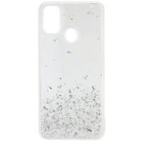 TPU чехол Star Glitter для Samsung Galaxy M30s / M21