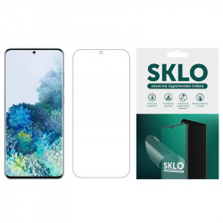 Защитная гидрогелевая пленка SKLO (экран) для Samsung Galaxy A6 Plus (2018)