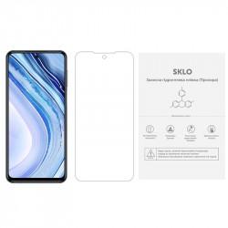 Защитная гидрогелевая пленка SKLO (экран) (тех.пак) для Xiaomi Mi 10T