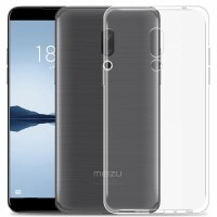 TPU чехол Ultrathin Series 0,33mm для Meizu 15 Plus