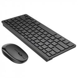 Набор клавиатура (кир.) + мышь Hoco DI05, беспроводной