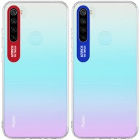 TPU чехол Epic clear flash для Xiaomi Redmi Note 8