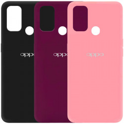 Чехол Silicone Cover My Color Full Protective (A) для Oppo A53 / A32 / A33