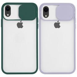 """Уценка Чехол Camshield mate TPU со шторкой для камеры для Apple iPhone XR (6.1"""")"""