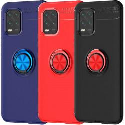 TPU чехол Deen ColorRing под магнитный держатель (opp) для Xiaomi Mi 10 Lite