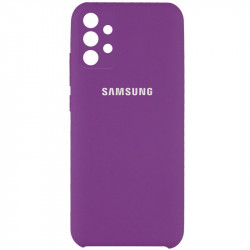 Уценка Чехол Silicone Cover Full Camera (AAA) для Samsung Galaxy A32 4G