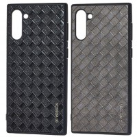Кожаная накладка VORSON Braided leather series для Samsung Galaxy Note 10