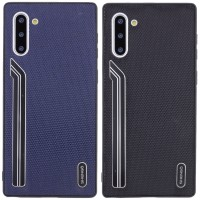 TPU чехол SHENGO Textile series для Samsung Galaxy Note 10