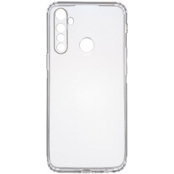 TPU чехол GETMAN Transparent 1,0 mm для Realme 5 Pro