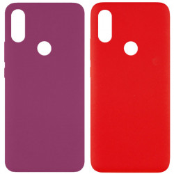 Чехол Silicone Cover Full without Logo (A) для Xiaomi Redmi Note 7 / Note 7 Pro / Note 7s