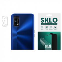 Защитная гидрогелевая пленка SKLO (на камеру) 4шт. для Realme 7i / Realme C17