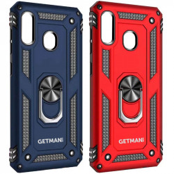 Ударопрочный чехол GETMAN Serge Ring for Magnet для Samsung Galaxy A11 / M11