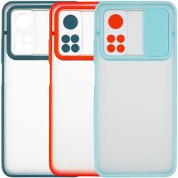 Чехол Camshield mate TPU со шторкой для камеры для Xiaomi Mi 10T / Mi 10T Pro