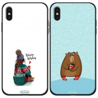 "TPU+PC чехол ForFun для Apple iPhone X / XS (5.8"")"