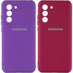 Чехол Silicone Cover My Color Full Camera (A) для Samsung Galaxy S21