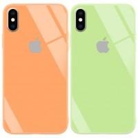 "<span class=""text-orange bold"">Серия</span> TPU+Glass чехол GLOSSY Logo series"