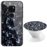 TPU+Glass чехол Shell с круглой подставкой для Huawei Mate 20