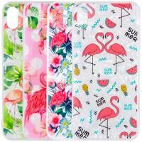 "Накладка Glue Case Фламинго для Apple iPhone XS Max (6.5"")"