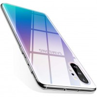 TPU чехол Epic Transparent 1,0mm для Samsung Galaxy Note 10 Plus