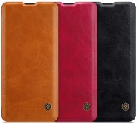 Кожаный чехол (книжка) Nillkin Qin Series для Samsung Galaxy A20 / A30