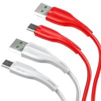Дата кабель Usams US-SJ375 U38 Micro 4A Fast Charging & Data Cable 1m