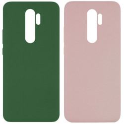 Чехол Silicone Cover Full without Logo (A) для Xiaomi Redmi Note 8 Pro