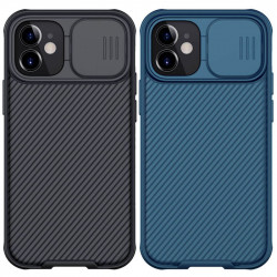 "Карбоновая накладка Nillkin CamShield Pro Magnetic для Apple iPhone 12 mini (5.4"")"