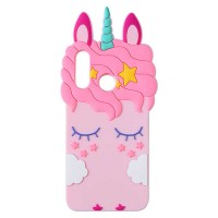 Силиконовая накладка 3D Little Unicorn для Huawei P20 Lite
