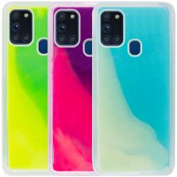 Неоновый чехол Neon Sand glow in the dark для Samsung Galaxy A21s