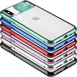 "Чехол Camshield 360 Metall+Glass со шторкой для камеры для Apple iPhone X / XS (5.8"")"