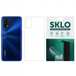 Защитная гидрогелевая пленка SKLO (тыл) для Realme 3