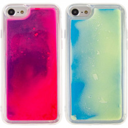 "Неоновый чехол Neon Sand glow in the dark для Apple iPhone 7 / 8 / SE (2020) (4.7"")"