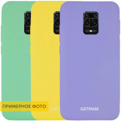 Чехол Silicone Cover GETMAN for Magnet для Xiaomi Redmi Note 9s / Note 9 Pro / Note 9 Pro Max
