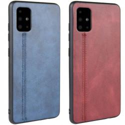 Кожаный чехол Line для Samsung Galaxy A71
