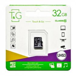 Карта памяти T&G microSDXC (UHS-3) 32 GB class 10 (без адаптера)