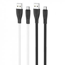 "Дата кабель Hoco X42 ""Soft Silicone"" USB to MicroUSB (1m)"