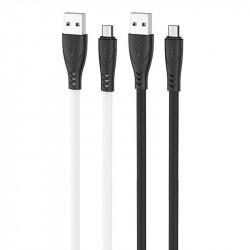 "Дата кабель Hoco X42 ""Soft Silicone"" USB to MicroUSB (1m)"