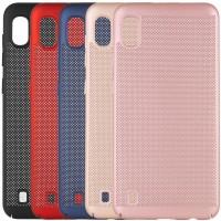 Ультратонкий дышащий чехол Grid case для Samsung Galaxy A10 (A105F)