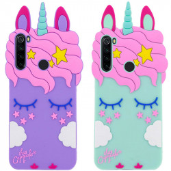 Силиконовая накладка 3D Little Unicorn для Samsung Galaxy A21