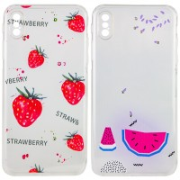 "TPU чехол Luxury Diamond full protective для Apple iPhone X / XS (5.8"")"