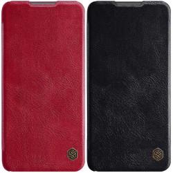 Кожаный чехол (книжка) Nillkin Qin Series для Xiaomi Redmi Note 9 4G / Redmi 9 Power