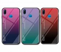 TPU+Glass чехол Gradient HELLO для Xiaomi Redmi Note 7 / Note 7 Pro / Note 7s