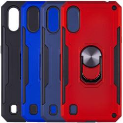 Ударопрочный чехол SG Ring Color магнитный держатель для Samsung Galaxy A01