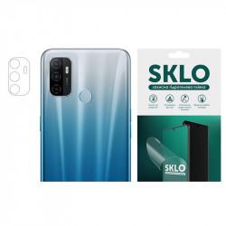 Защитная гидрогелевая пленка SKLO (на камеру) 4шт. для Oppo Reno 3