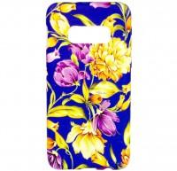 TPU чехол Акварель Flower series для Samsung Galaxy S10+