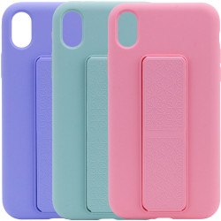 "Чехол Silicone Case Hand Holder для Apple iPhone X / XS (5.8"")"